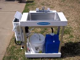 image of backyard gear wc100 water station with outdoor sink