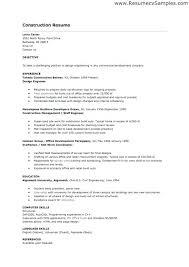 Sample Resume For Construction Superintendent Topshoppingnetwork Com
