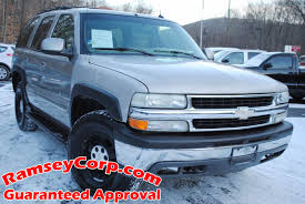 Used 2002 Chevrolet Tahoe For Sale | West Milford NJ
