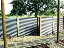 corrugated steel fence panels metal iron large size of roofing