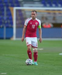 Denmarks Christian Eriksen during the friendly pre Euro 2021 match... News  Photo - Getty Images