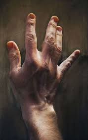 hand painting give him a hand hyperreal paintings javier arizabalo fine art template