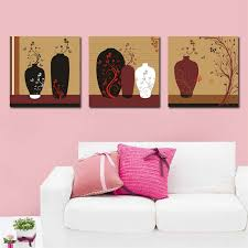 flower bottles modern canvas art wall decor abstract canvas prints wall art no frame