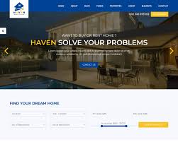 Real Estate Website Templates Realtor Html5 Responsive Template