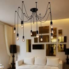 lightinthebox vintage edison multiple ajule diy ceiling spider light chandelier tea modern archived on lighting