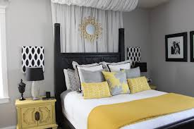 Yellow Grey Bedroom Decor Shoisecom