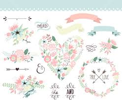 flowers vector images Wedding Invitations With Graphics wedding flowers vector images Wedding Background Graphics