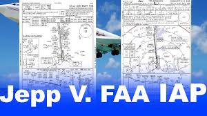 Ifr 5 Differences Between Faa And Jeppesen Approach Plates Nos Plates