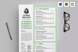 40 Professional Business Resume Templates For 2040 Magnificent Professional Resume Design