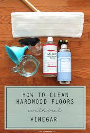 how to wash hardwood floors without vinegar clean
