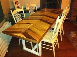 Recycled Pallet Farmhouse Dining Table ...