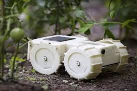 forget weeds let the tertill robot keep your garden clear of weeds
