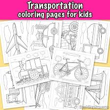 Today there are so many different forms of transportation available, now you can teach your kids all the various types or transportaion there are in the world, by printing the many. Transportation Coloring Pages For Kids Itsybitsyfun Com
