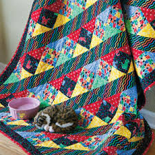 Cat Show: Fast Novelty Print Fabric Lap/Throw Quilt Pattern & Cat Show: Fast Novelty Print Lap Quilt Pattern Adamdwight.com