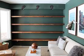 diy wall bookshelves american hwy solid wood shelves chris loves julia bookshelf reclaimed room divider bespoke