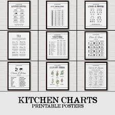 Cooking Chart Oven Chart Cooking Art Cooking Decor