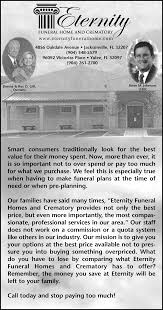 most pionate professional services by eternity funeral home and crematory in 4856 oakdale avenue jacksonville florida