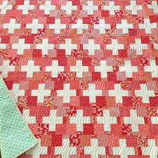 Number three is called Swiss and it's my take on a simple plus ... & Number three is called Swiss and it's my take on a simple plus quilt/red Adamdwight.com