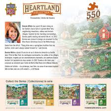 Heartland Collection Crosswinds 550 Piece Jigsaw Puzzle By Bonnie White