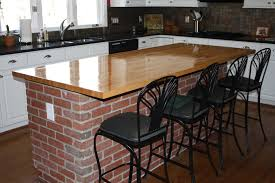 Red Brick Flooring Kitchen The Brick Kitchen Island Best Kitchen Island 2017