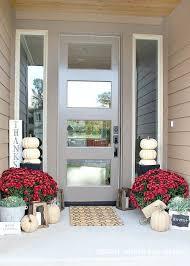 glass front doors full glass exterior door mirrored front door and sidelights tan exterior