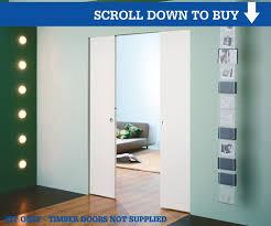 syntesis frame profile eclisse syntesis flush double pocket door
