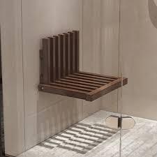 best wall mounted shower seat folding