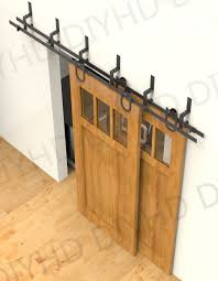 distinctive ft sliding doors barnwood barn doors ft bypass rustic sliding barn wood closet