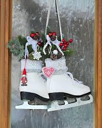 Schlittschuhe Weihnachtsdeko Landhausshabby Von Thürmchens