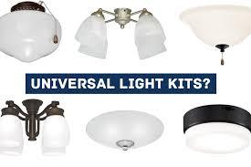 are ceiling fan light kits