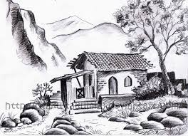 Landscape Drawings In Pencil Landscapes Scenery 2011 2015