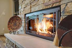zero clearance fireplaces stacked stone surround hearth zero clearance fireplace ideas for unique interior appearance