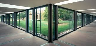 safety glass panel building structural transpa