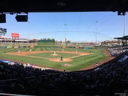 Sloan Park Arizona Seating Chart Sloan Park Section 111 Rateyourseats Com