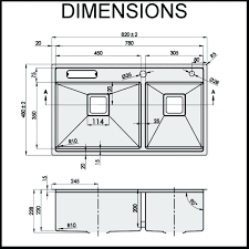 standard kitchen sink size types wonderful interior design for