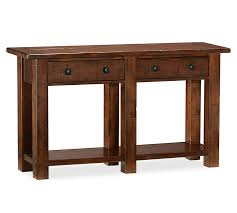 pottery barn bench style office desk rustic. Pottery Barn Bench Style Office Desk Rustic