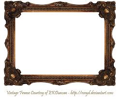 old picture frames png elaborate wood scroll frame image freeuse