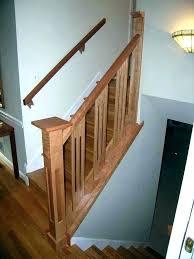 stair railing design wood outdoor