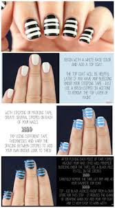 Nail Tutorials: How to Paint a Stripe Nail Art - Pretty Designs
