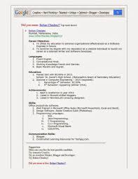 Latest Resume Format 2014 India Resume Format Doc File Download