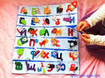Поделка азбуки своими руками