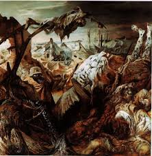 otto dix s famous world war i painting