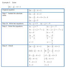 algebra 2 absolute value equations and inequalities worksheet
