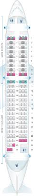 Airbus A319 Seating Chart Seat Map British Airways Airbus A319 European Layout