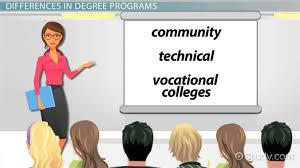 Vocational Careers List Two Year Degrees Vs Four Year Degrees Learn The Difference