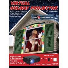 tv projector walmart. mr. christmas indoor virtual holiday projector tv walmart