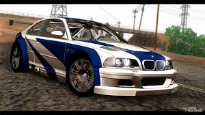 Coupe Series bmw 2004 m3 : M3 GTR E46 2004 for GTA San Andreas