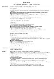 Corporate Executive Resume Samples Velvet Jobs
