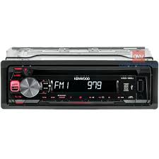 kenwood kdc 125u car stereo cd receiver with front usb Kenwood Wiring Harness Diagram at Kenwood Kdc 125u Wiring Diagram
