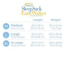 Aden And Anais Sleep Sack Size Chart 36 Paradigmatic Halo Sleep Sack Size Chart